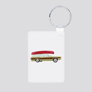 Station Wagon and Canoe Keychains