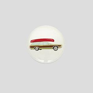 Station Wagon and Canoe Mini Button