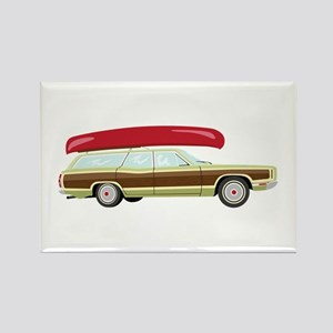 Station Wagon and Canoe Magnets