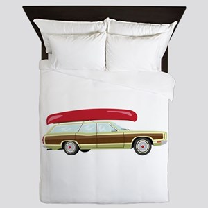 Station Wagon and Canoe Queen Duvet