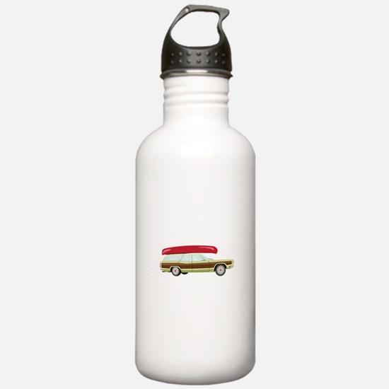 Station Wagon and Canoe Water Bottle