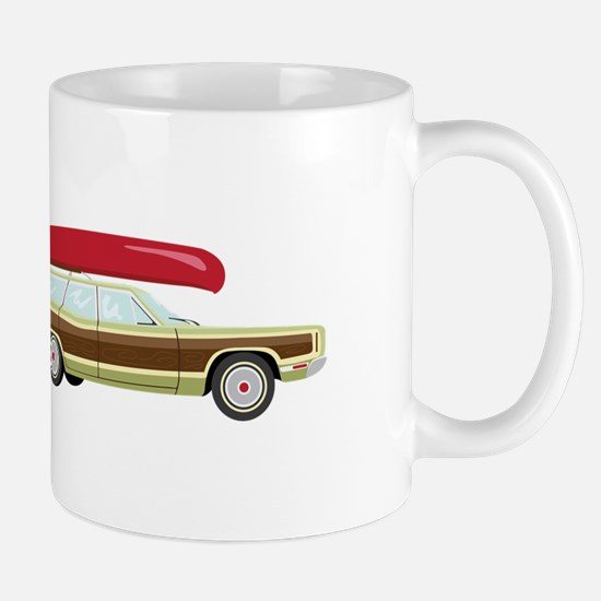 Station Wagon and Canoe Mugs