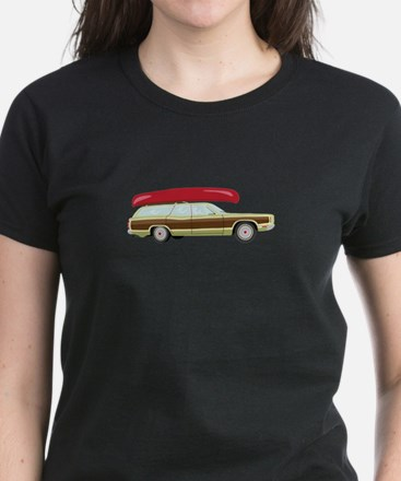 Station Wagon and Canoe T-Shirt