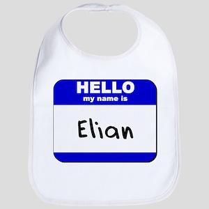hello my name is elian  Bib
