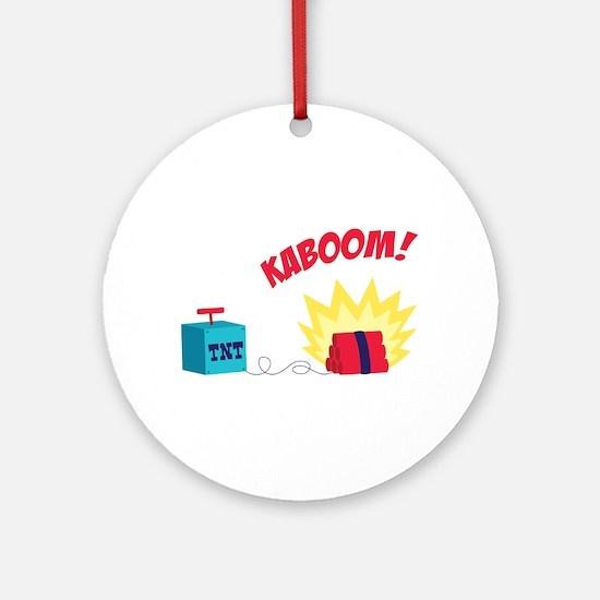TNT KABOOM! Ornament (Round)