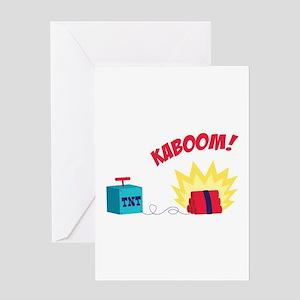 TNT KABOOM! Greeting Cards