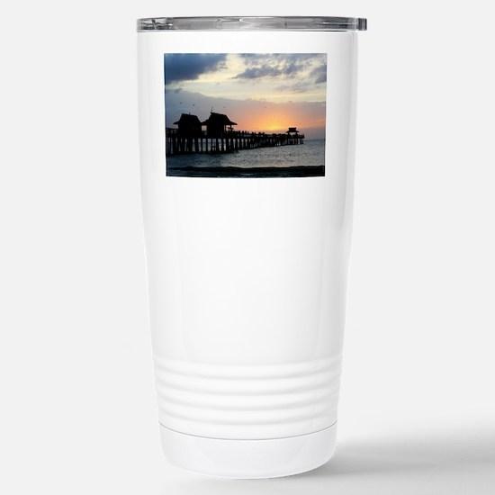 Pier Silhouette  Stainless Steel Travel Mug