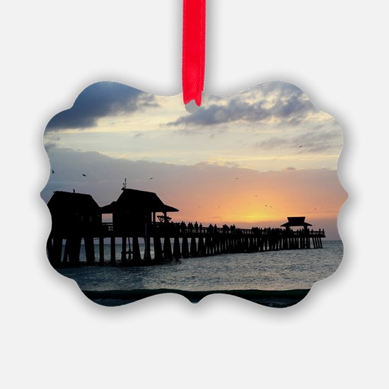 Pier Silhouette  Ornament