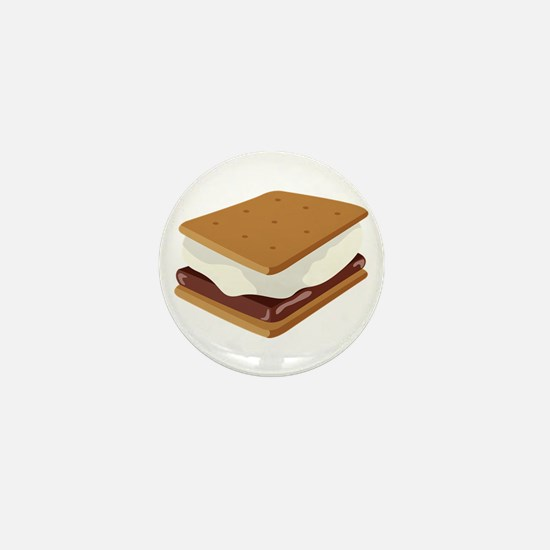 Smore Mini Button