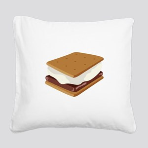 Smore Square Canvas Pillow