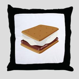 Smore Throw Pillow