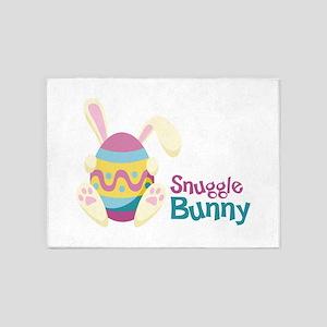 Snuggle Bunny 5'x7'Area Rug