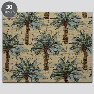 Palm Trees Fabric Pattern Puzzle