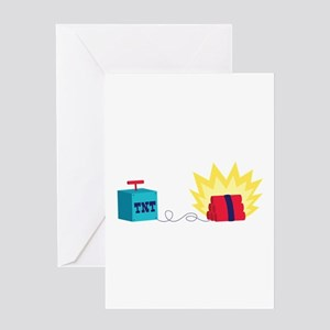 TNT Explosives Greeting Cards