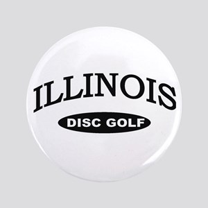 "Illinois Disc Golf 3.5"" Button"