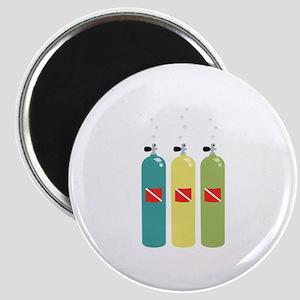 Scuba Tanks Magnets