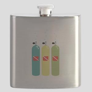 Scuba Tanks Flask