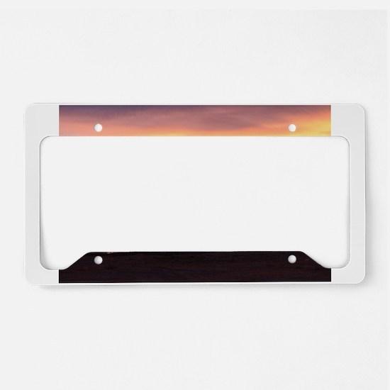 Southwest Sunrise License Plate Holder