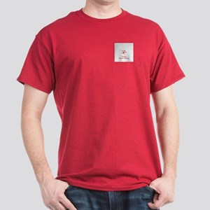 Team Alpine Skiing Red Dark T-Shirt