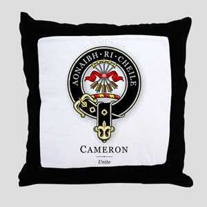 Clan Cameron Throw Pillow