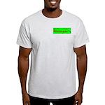 Take it like a Wataugan Ash Grey T-Shirt