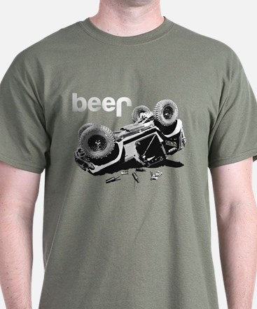 Funny beer 4x4 T-Shirt