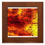 Sahara desert Framed Tile