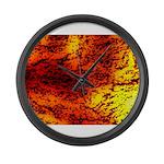Sahara desert Large Wall Clock