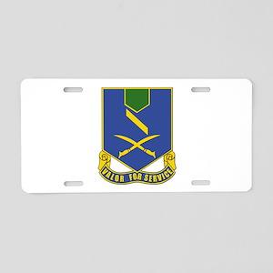 DUI - 137th Infantry Regiment Aluminum License Pla