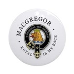 Clan MacGregor Ornament (Round)