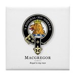 Clan MacGregor Tile Coaster