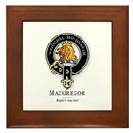Clan MacGregor Framed Tile