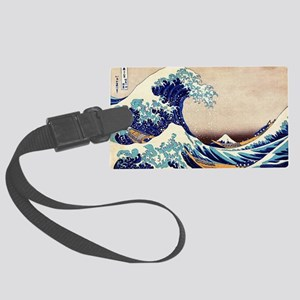 Great Wave Off Kanagawa Large Luggage Tag