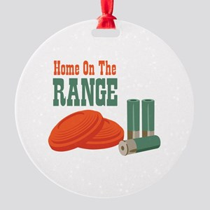 Home On The Range Ornament
