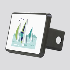 Sail Boat Race Hitch Cover