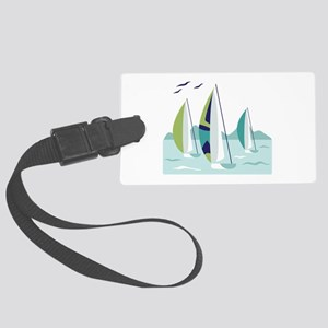 Sail Boat Race Luggage Tag