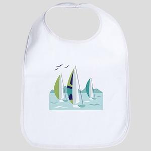 Sail Boat Race Bib
