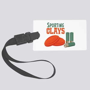 Sporting Clays Luggage Tag