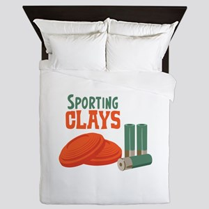 Sporting Clays Queen Duvet