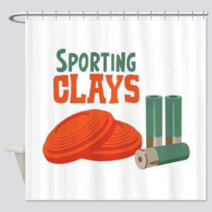 Sporting Clays Shower Curtain