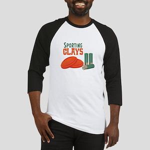 Sporting Clays Baseball Jersey