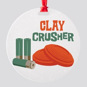 Clay Crusher Ornament