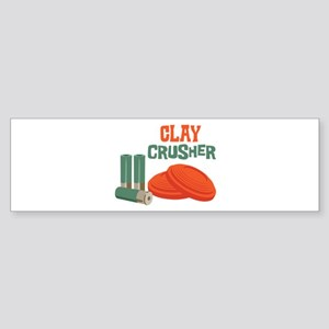 Clay Crusher Bumper Sticker