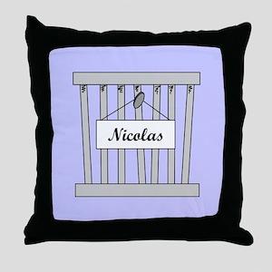 nicolas cage Throw Pillow
