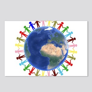 One Earth - One People Postcards (Package of 8)
