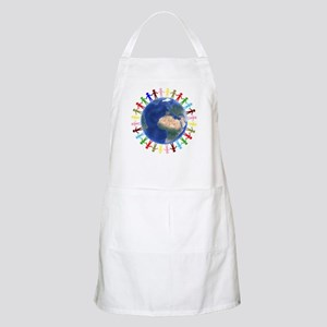 One Earth - One People Apron