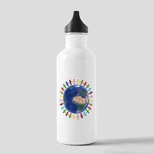 One Earth - One People Water Bottle