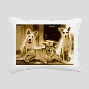 Doggy Love Rectangular Canvas Pillow