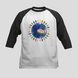 One Earth - One People Baseball Jersey