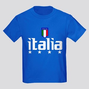 Italia soccer t-shirts 4 Star Italia shirt Kids Da